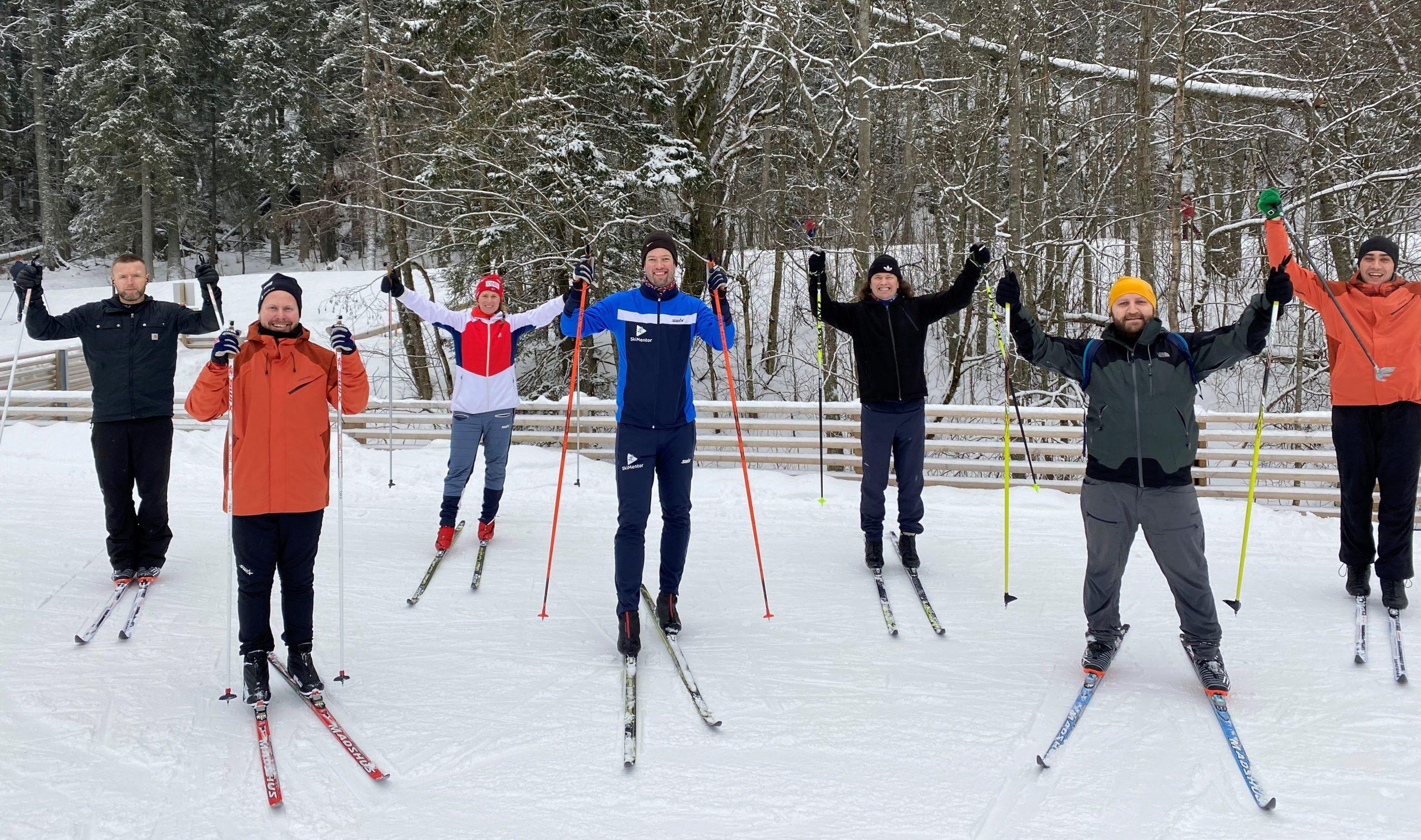 Teknikkurs for Gatelaget med SkiMentor